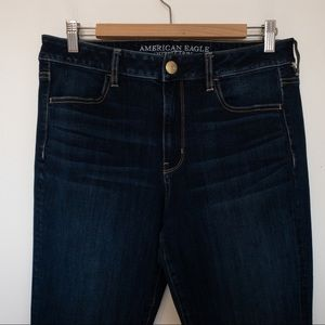 American Eagle Women Size 12 High Rise Jegging